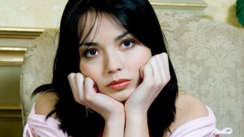 Die attraktive Single-Frau