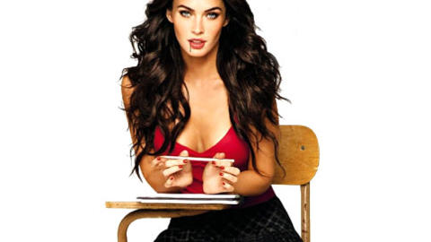 Megan Fox im Interview auf fem.com