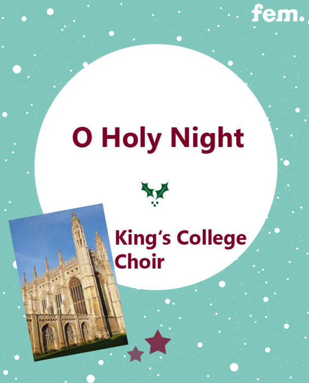 10. O Holy Night - King's College Choir