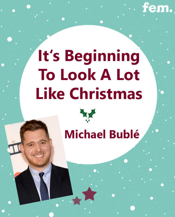 2. It's Beginning To Look A Lot Like Christmas - Michael Bublé