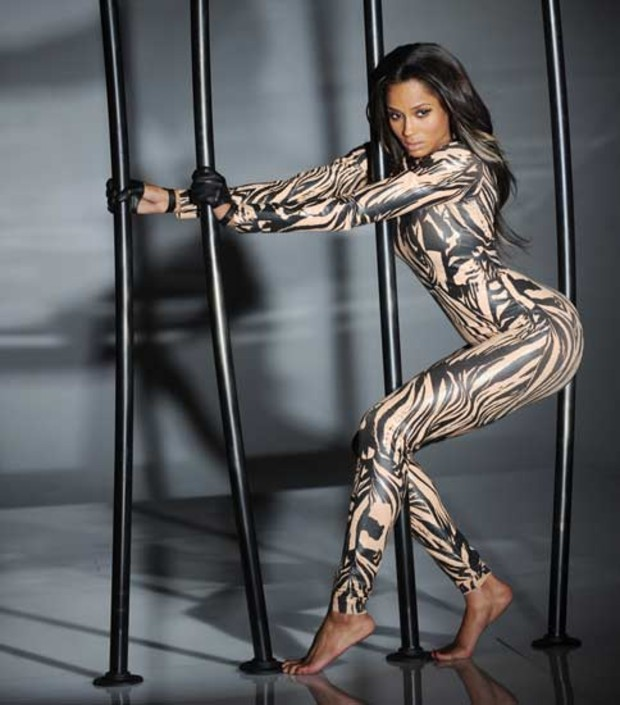 ciara-body-paint-leopard